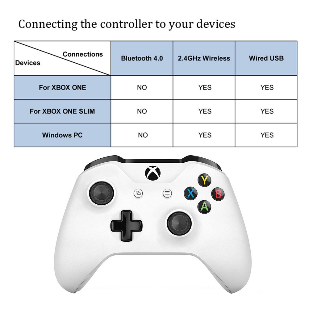 Official Microsoft Xbox One S Wireless Bluetooth Game Controller Gamepad