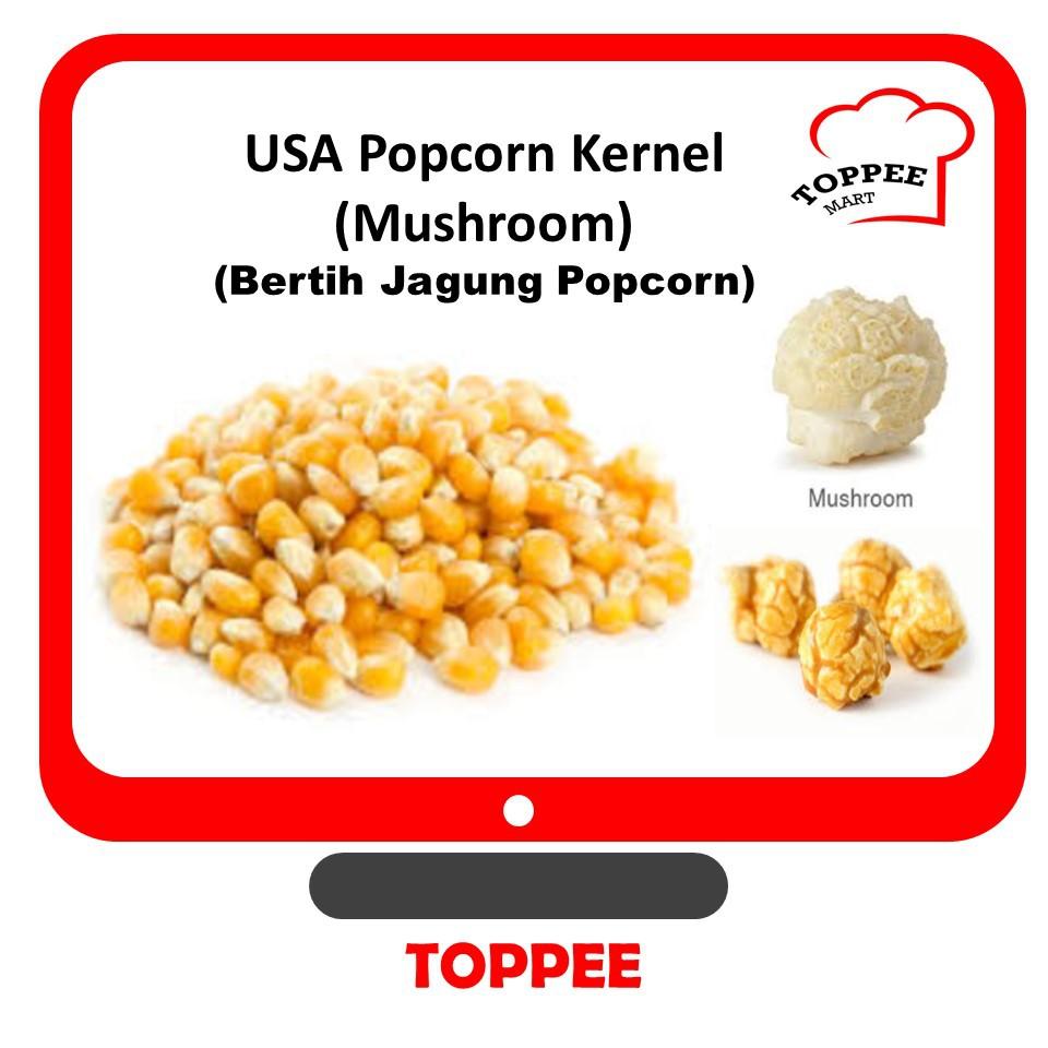 POPCORN MUSHROOM KERNEL BERTIH JAGUNG POPCORN MUSHROOM POP CORN