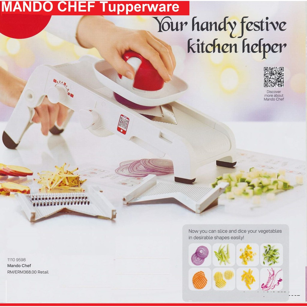 Tupperware Mando Chef