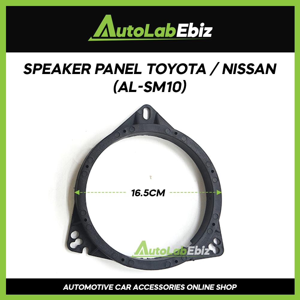 Car Door Speaker Panel Cover Trim Car (2pcs) For Toyota / Nissan AL-SM10