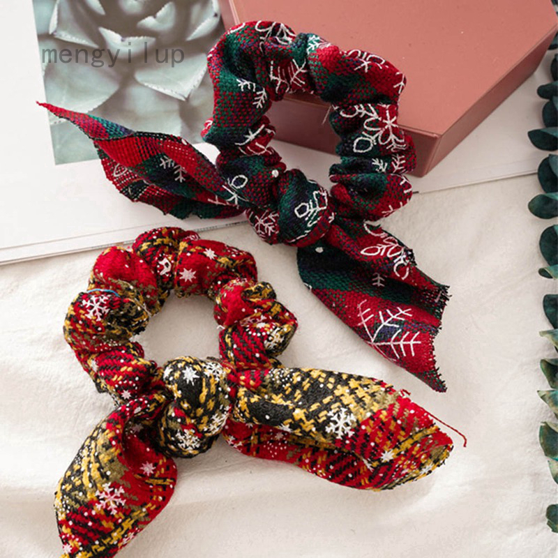 Creative Pattern Hair Accessories Hair Tie Scrunchies Ponytail Hair Holder Decor
