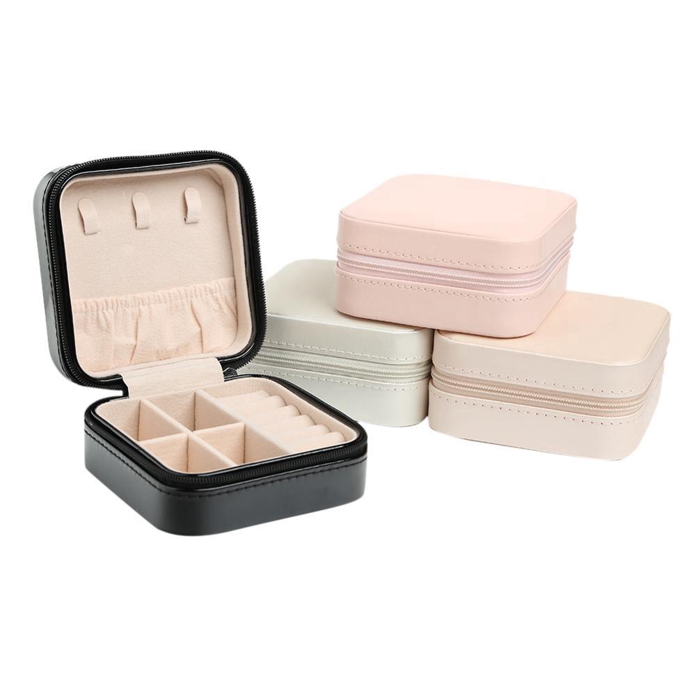 Black// White Velour Penguin Jewellery Box For Small Ring// Stud Earrings