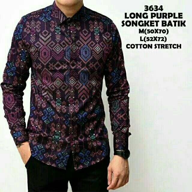 092899286d kemeja batik Online Shopping - Sale - Jun 2019 | Shopee Malaysia