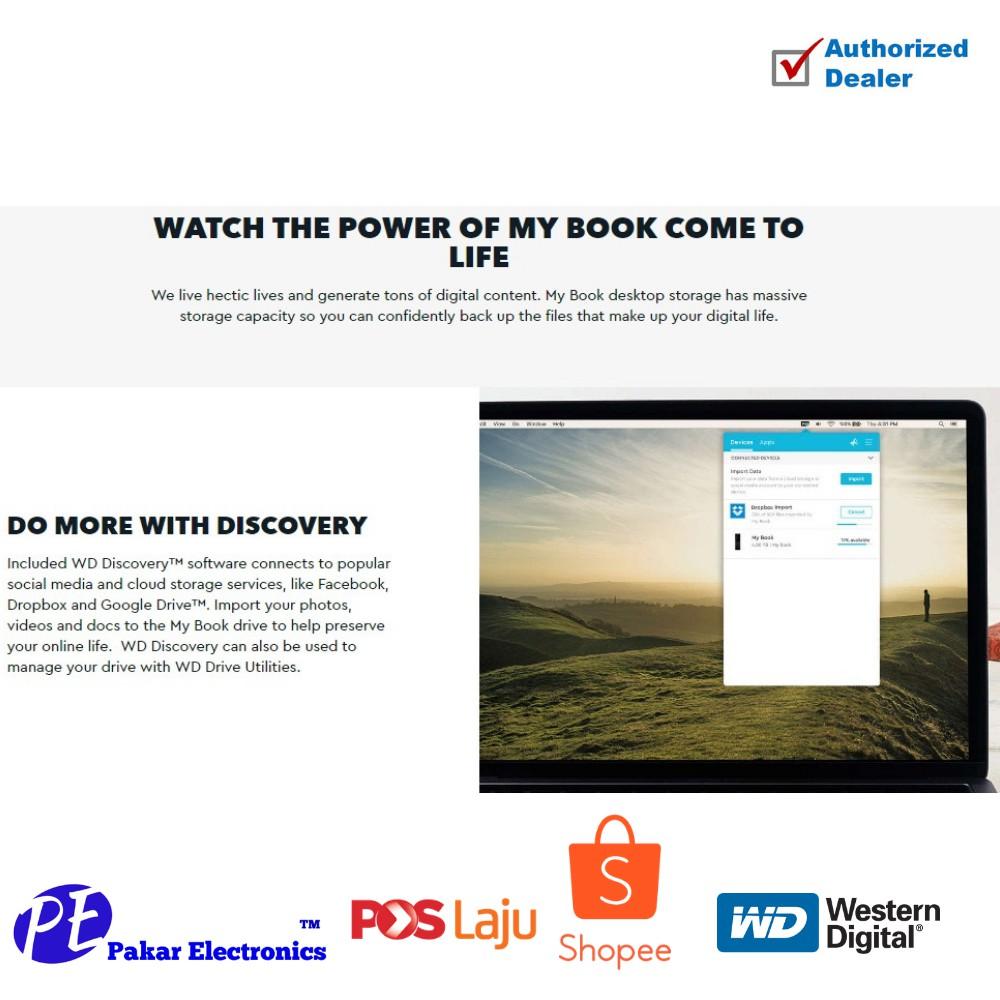 WD] my Book NEW - Genuine | Shopee Malaysia