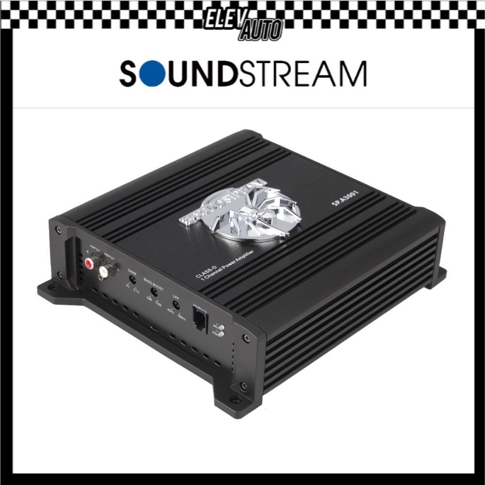 """Soundstream High Power Amplifier (300w x 1"""") SP.A3001"""
