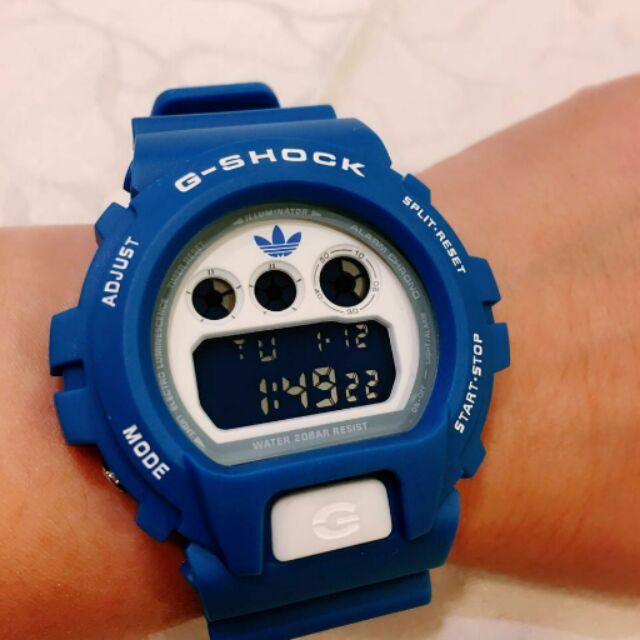 Adversario ruptura sensación  G-Shock Gshock DW6900 ADIDAS BLUE LIMITED 1:1 Copy Original | Shopee  Malaysia