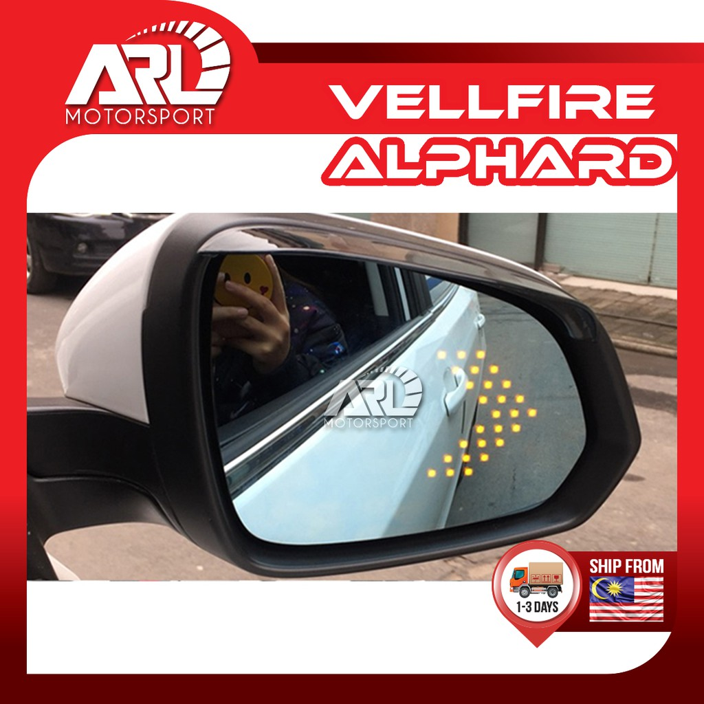 Toyota Alphard / Vellfire (2015-2020) AH30 AGH30 Blue Side Mirror LED Light Signal Car Auto Acccessories ARL Motorsport