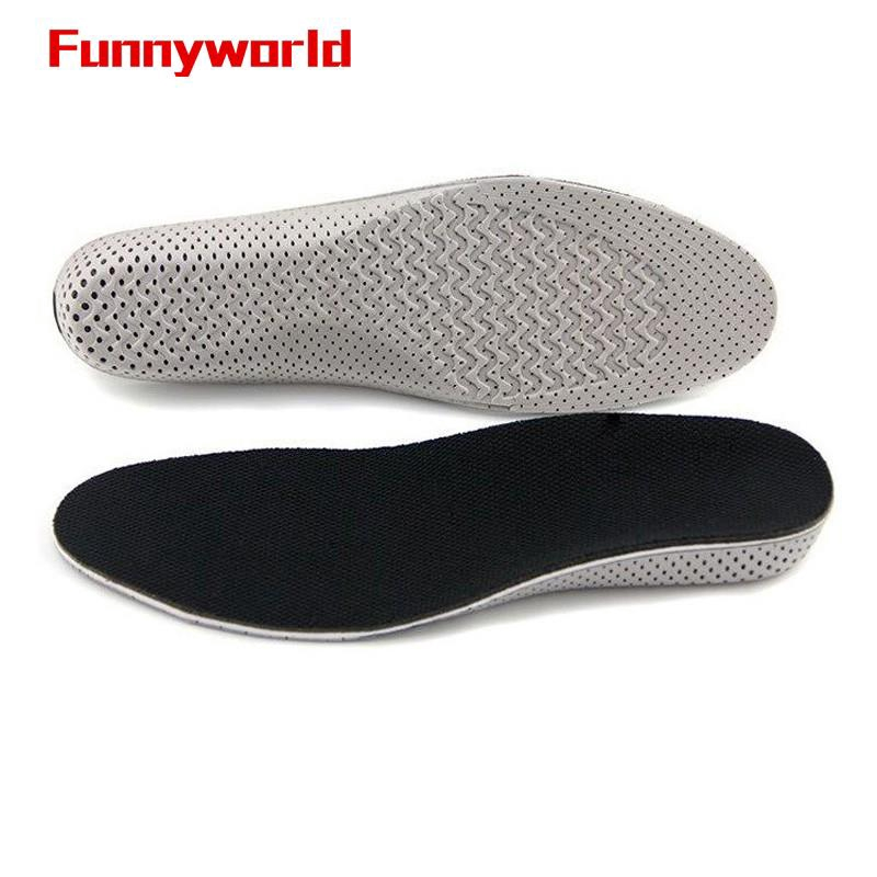 Hot Breathable Insole Heel Lift Insert Shoe Pad Height Increase Cushion Taller