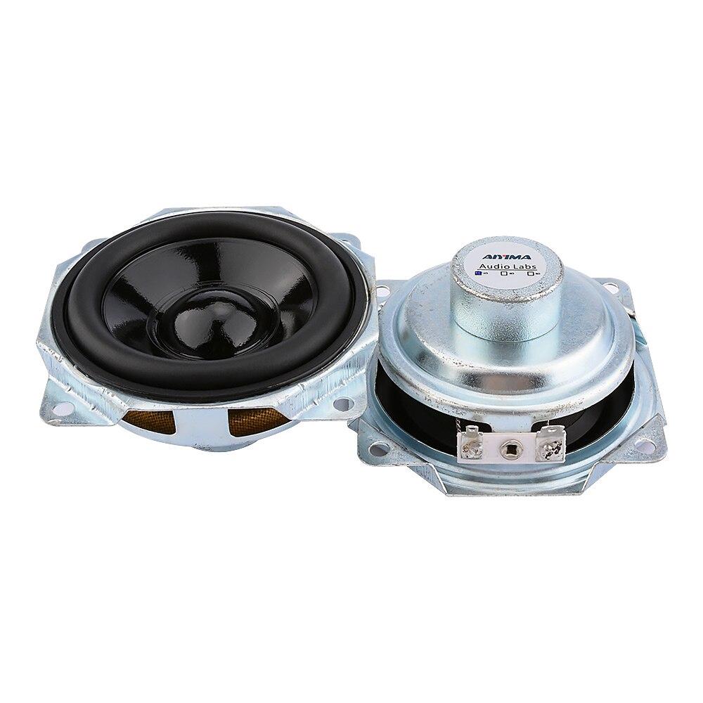 "2pcs 2.5/""inch 8ohm 8Ω 5W Waterproof speaker loudspeaker Advertising Audio"