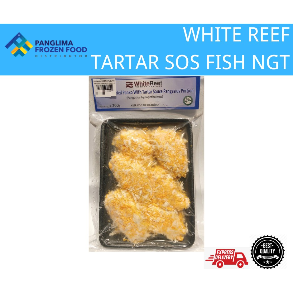 WHITE REEF TARTAR SAUCE FISH NUGGET (PFF)