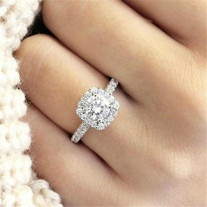 SAPPHIRE /& BLACK DIAMOND WEDDING  ENGAGEMENT RING SZ 5 SZ 6 SZ 7 SZ 8 SZ 9 sz 4