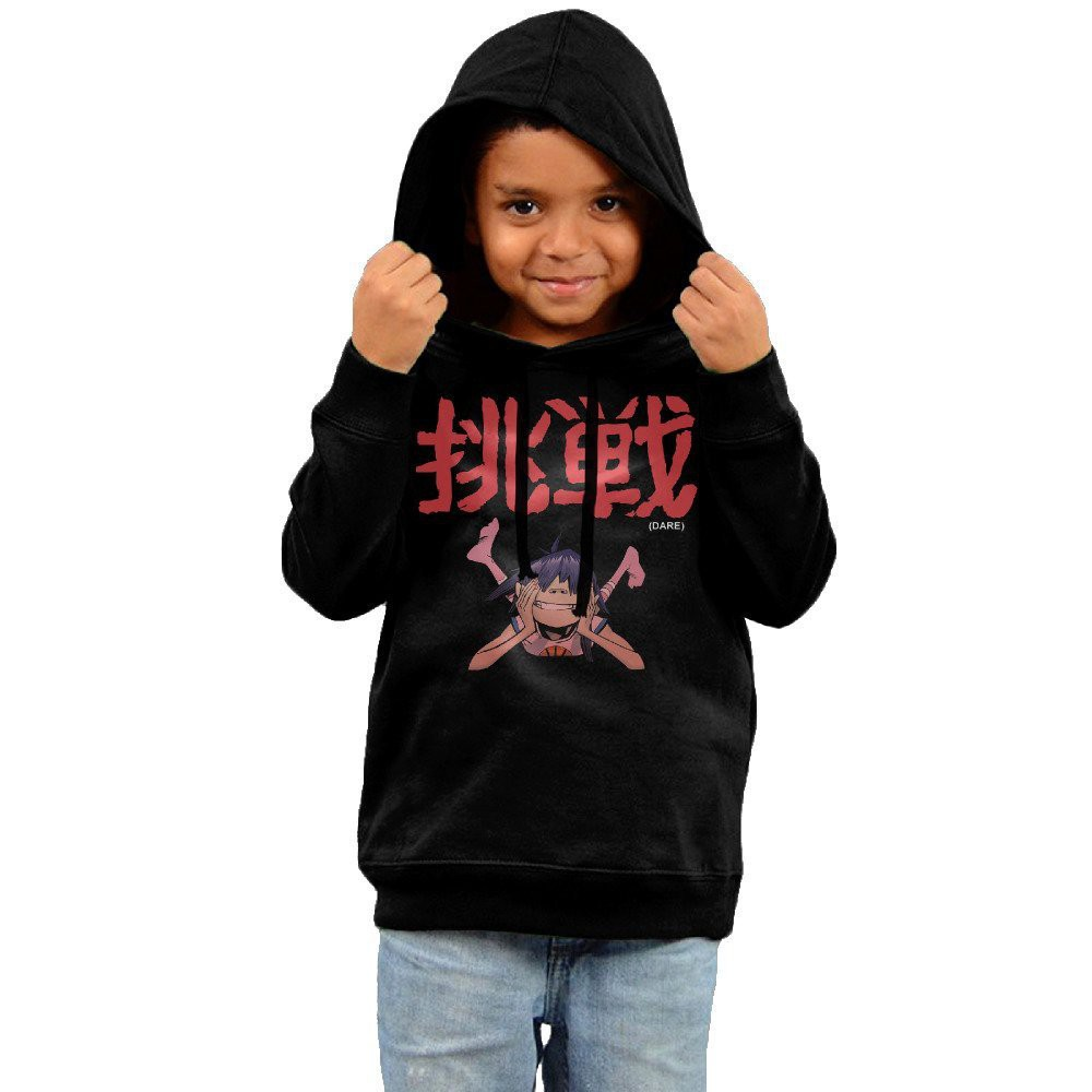 Unisex Gorillaz Band Dare Album Toddler Hoodie
