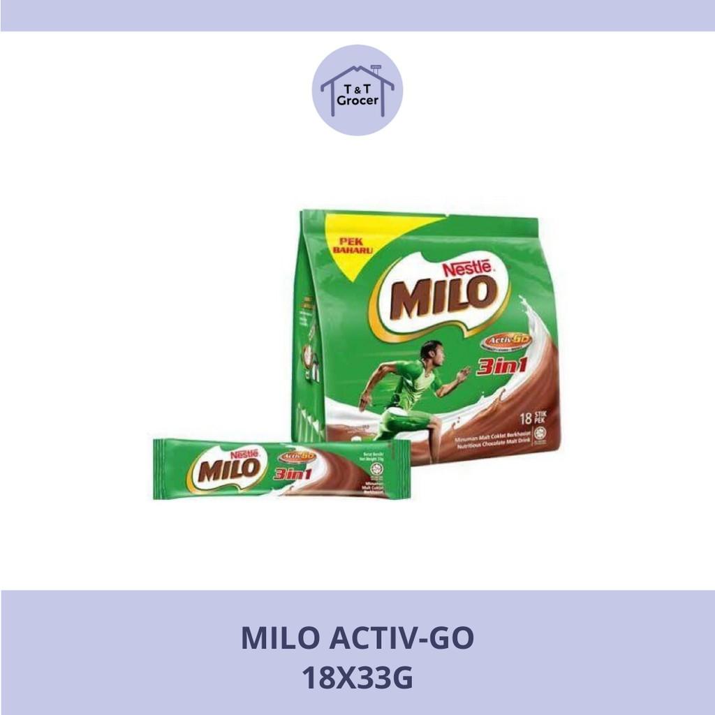 Milo Activ-Go 18x33g
