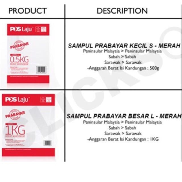Poslaju prabayar promotional giveaways