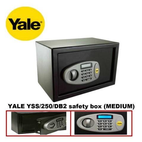 Yale Digital Safe Series YSS/250/DB2 Standard Digital Safe (Medium) Safety Box Peti keselamatan 保险箱