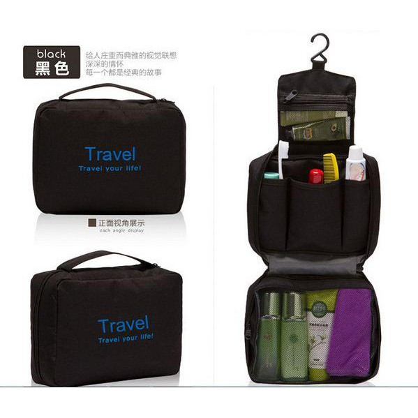 f95978d670 4 Piece set Clothing Sorting Bags Waterproof Beam Mouth Travel Storage Bag