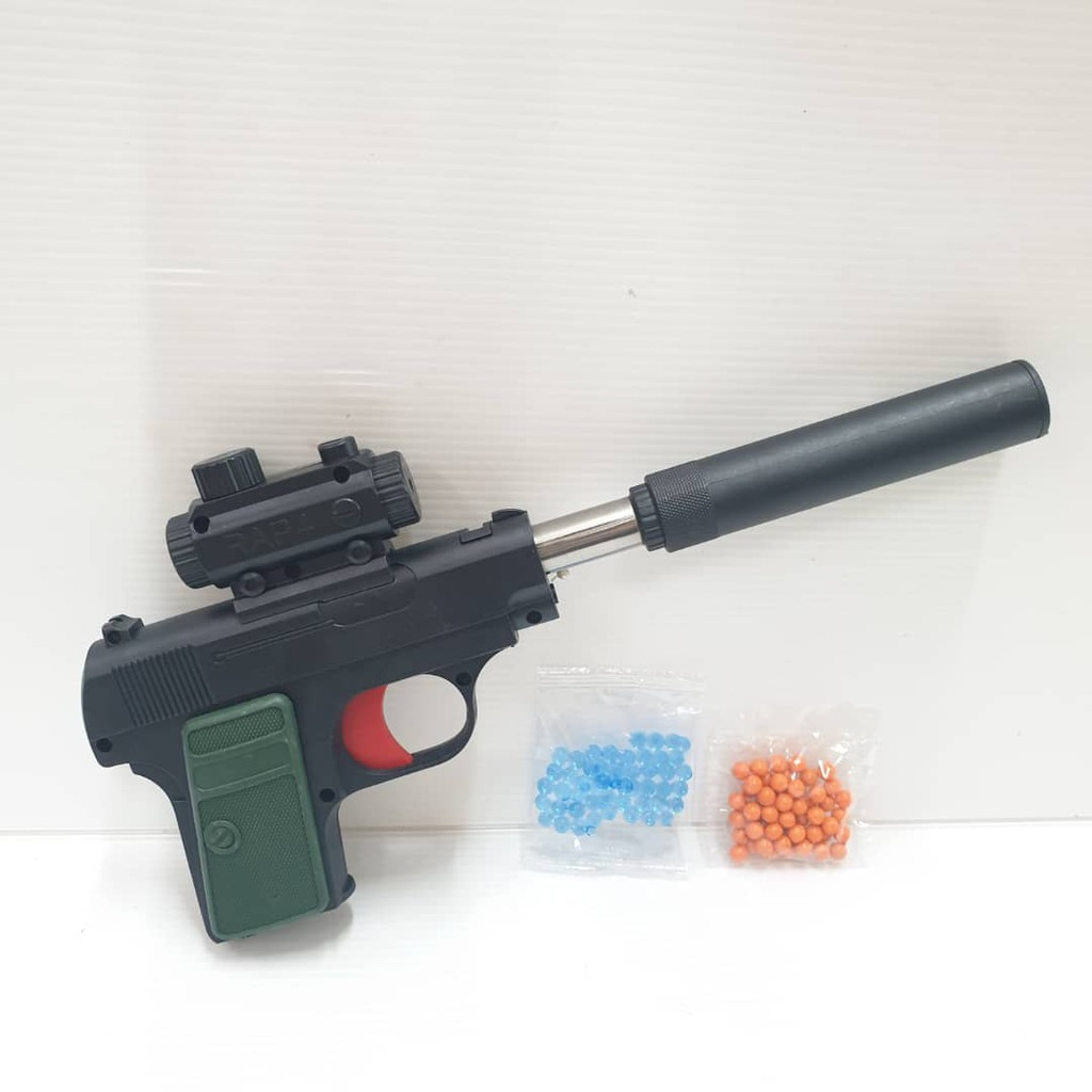 M Sia Stock Crystal Water Bullets Balls With Toys Gun Set Shopee Malaysia