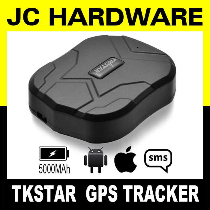 TKSTAR GPS Tracker Locator for Car Strong Magnet 60 days Standby SMS or APP