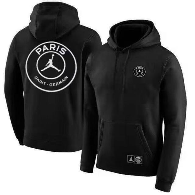 100% authentic no sale tax offer discounts 2018 PSG Jordan core hoodies