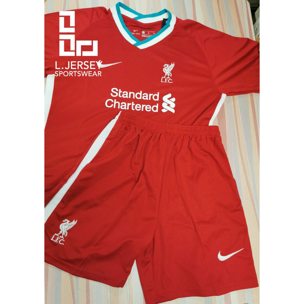 Liverpool Kid Home Season 20/21 Stadium Fans Jersey