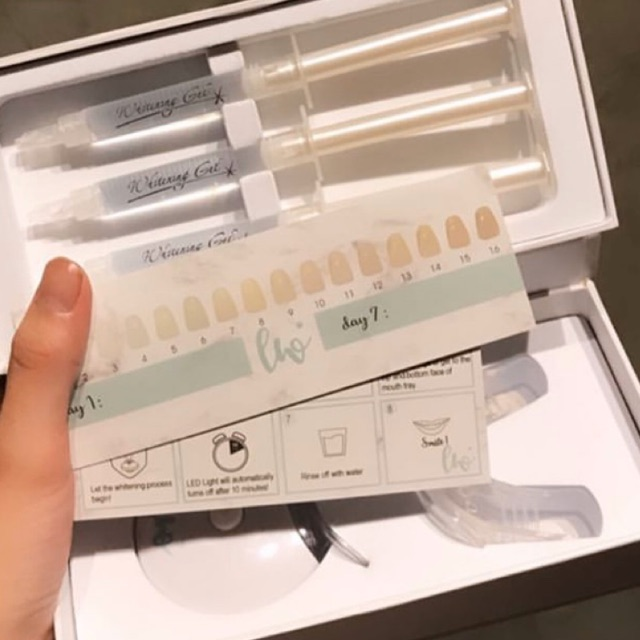 Teeth whitening kit - Lemon White