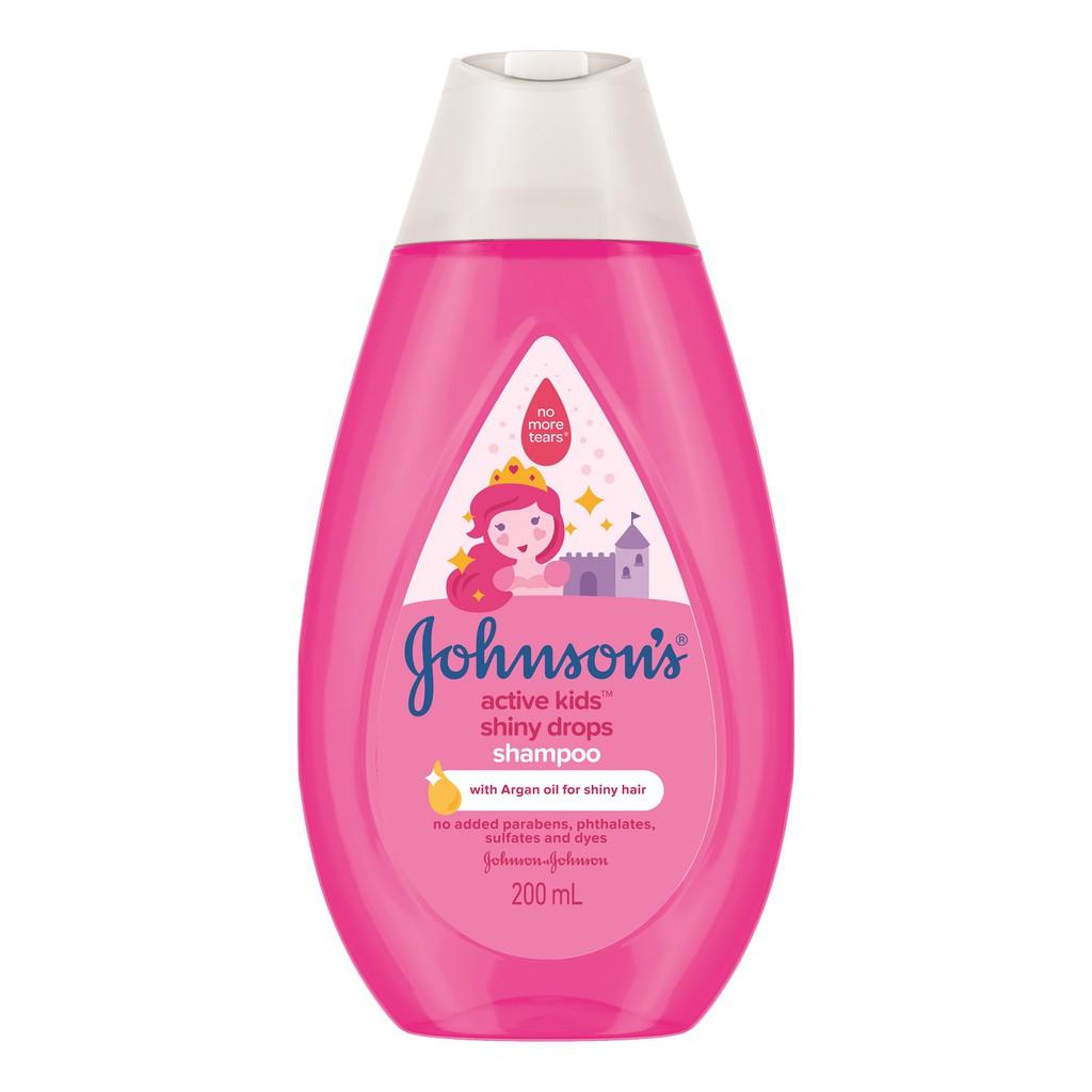 Johnson's Kid's Shiny Drop Shampoo (200ml)