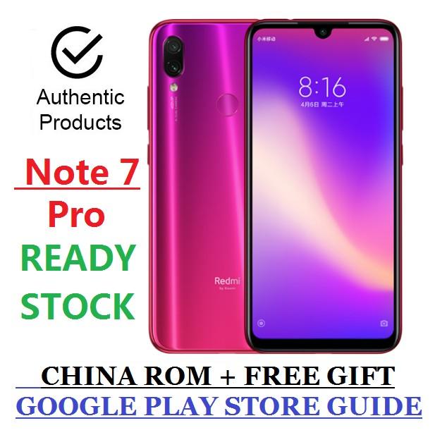 Xiaomi Redmi Note7 Pro 6+128G (Brand New Sealed)
