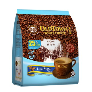 OLDTOWN White Coffee 3 in 1 Less Sugar (15's x 4) | Shopee ...
