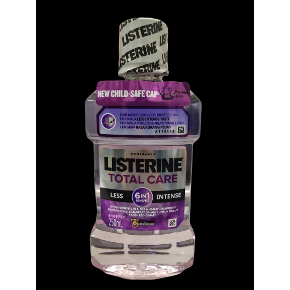 Listerine Total Care Less Intense Mouthwash 250ml