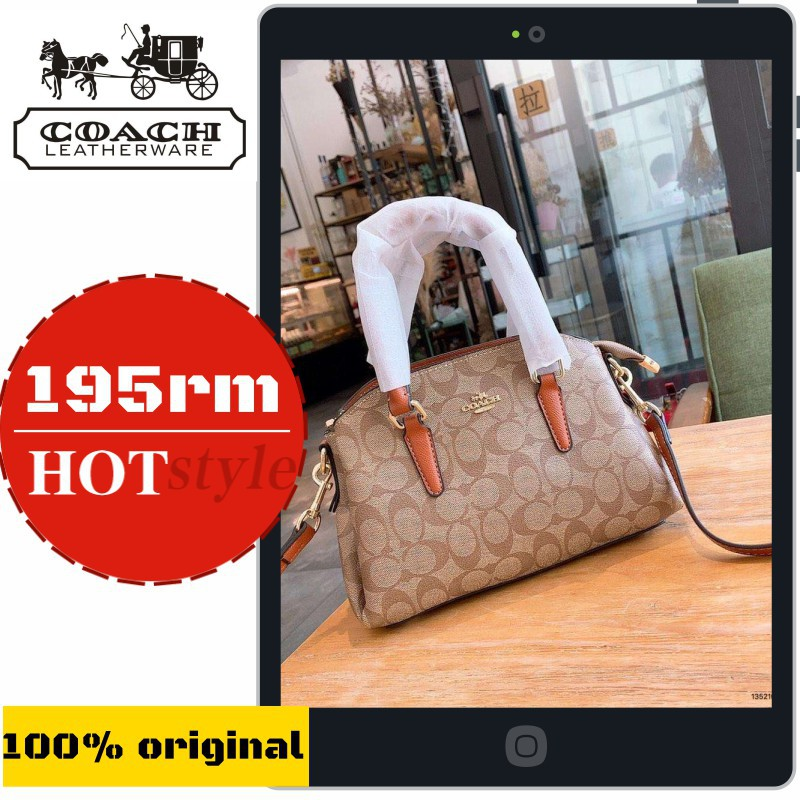 hot new products competitive price cheaper Coach Coated Colorblock Bag Almighty Parker Crossbody Women's Tote Coach