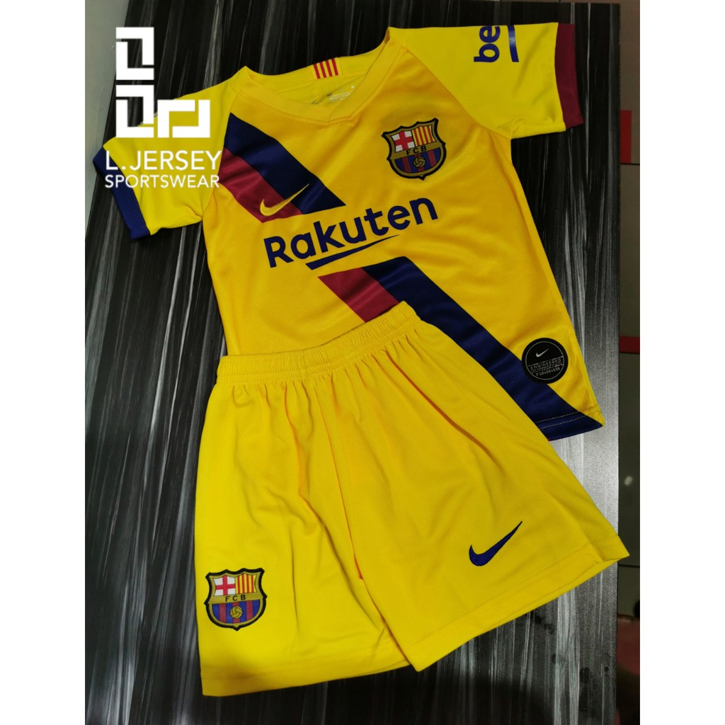 Barcelona Kid Away Season 19/20 Stadium Fans Jersey