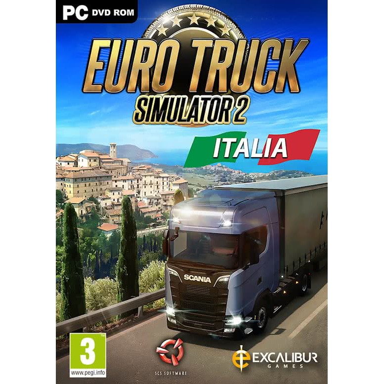 Euro Truck Simulator II / 2 (Main Games & DLCs) PC Games Single-player with  DVD