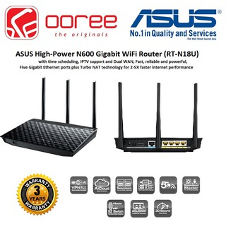 Asus AC1200 RT-AC1200G+ WiFi Router for Unifi / Maxis Fiber