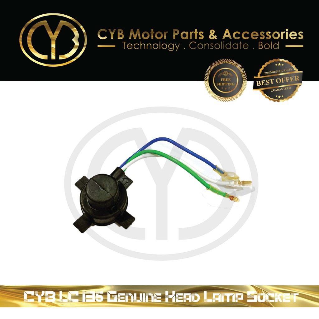 CYB LC135 Genuine Head Lamp Socket
