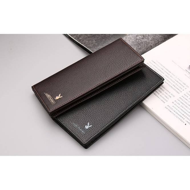3c7ba5d54c1523 Original Playboy Men Leather Wallet High Quality Free Gift Box ...
