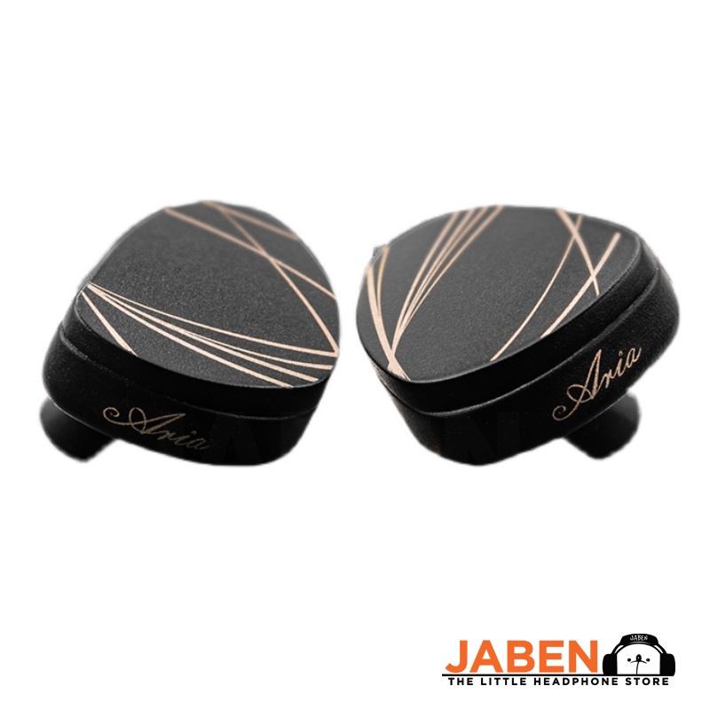 Moondrop Aria Artisan Detachable 0.78mm 2-Pin Wired IEM In-Ear Earphones [Jaben]