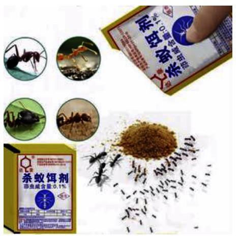 Dahao Ant Killing Bait Powerful Effective Destroy Ant Insecticide Bait Powder Repellent Anti Pest Control 5g/pack