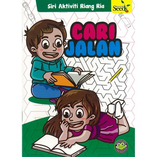 Pre School Kid Book Buku Kanak Kanak Pra Sekolah Toad Buku Aktiviti Series 2 Cari Jalan A5 Size 16 Pgs Shopee Malaysia