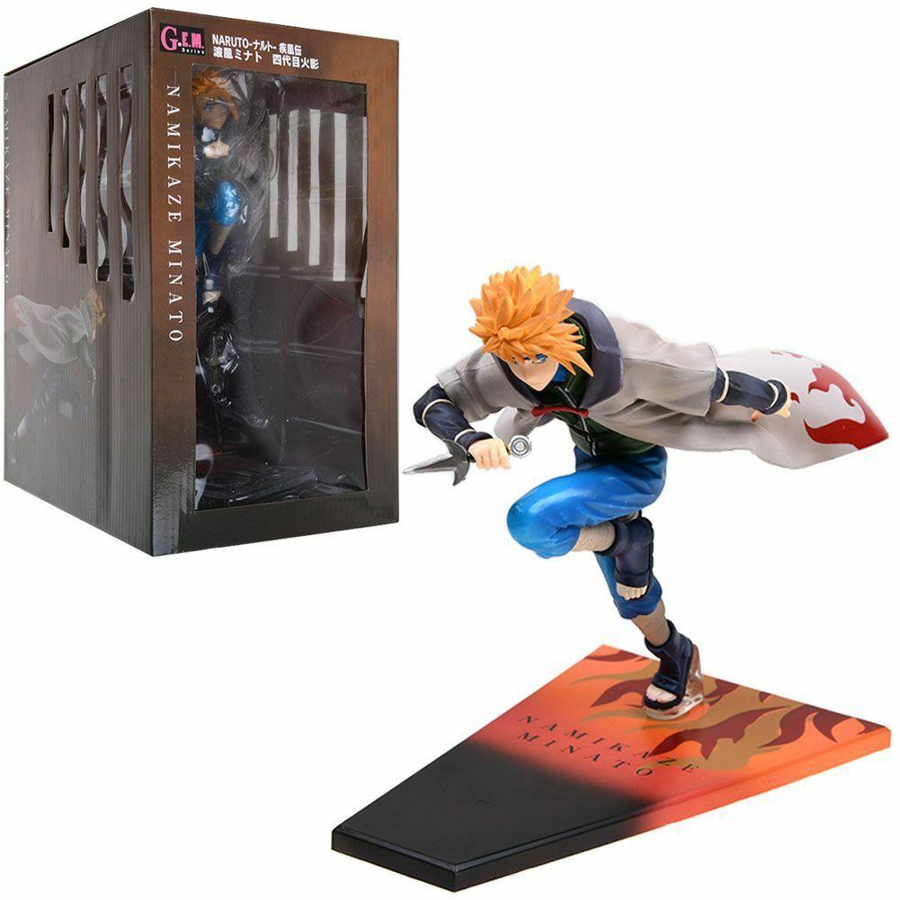 "Anime Naruto Shippuden Namikaze Minato 8"" Doll Figure New in Box"