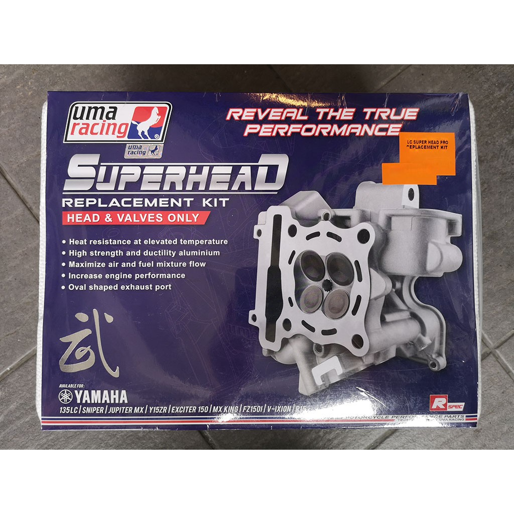 UMA RACING LC SUPERHEAD PRO REPLACEMENT KIT - IN25 / EX22