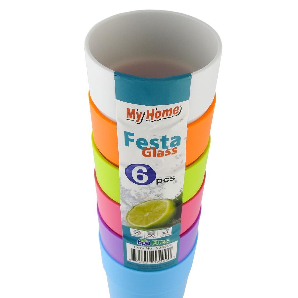 My Home Festa Glass 924504 (6 pcs)