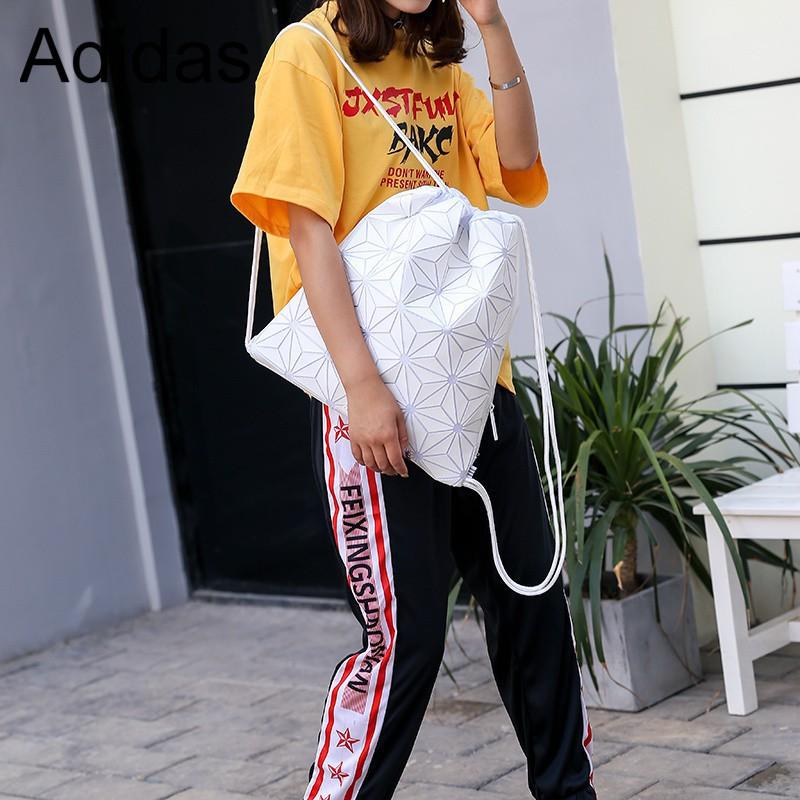 READY Stock Adidas Clover 3D GYM SACK Diamond Drawstring Backpack Men Women  Bag