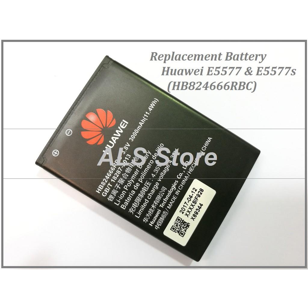 Replacement Battery Huawei MIFI E5577 E5577s E5785Lh-22c (HB824666RBC)  (3000mAh)