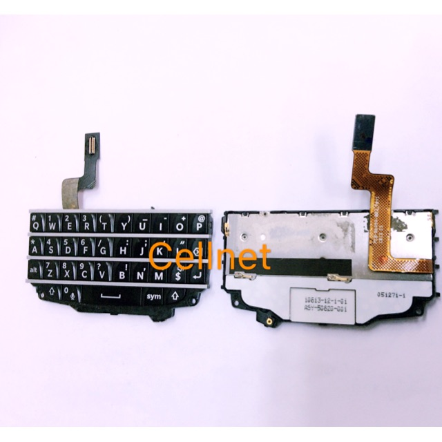 CE Blackberry Q10 keypad with keyboard flex