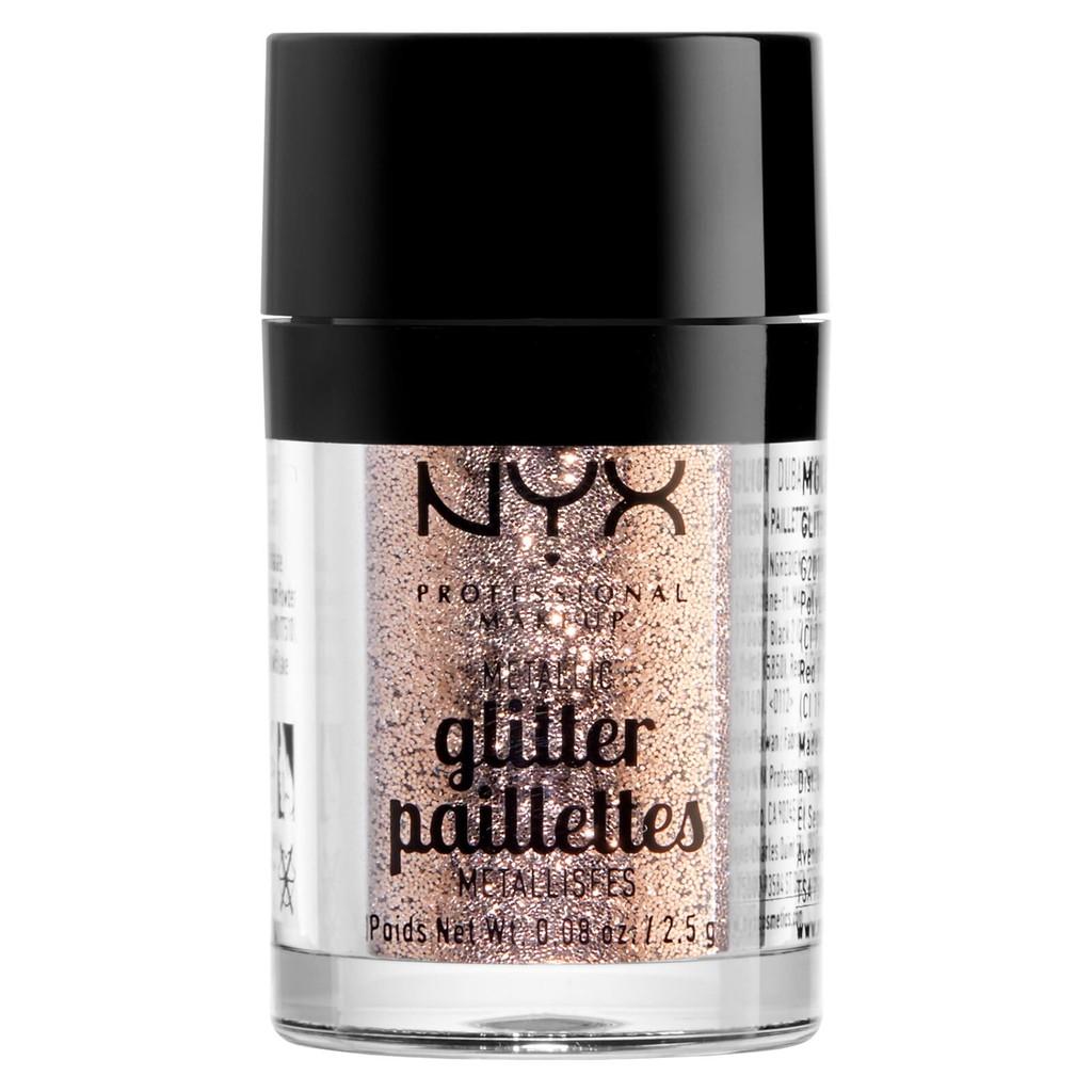 NYX Professional Makeup Glitter Primer + Metallic Glitter - Gold stone