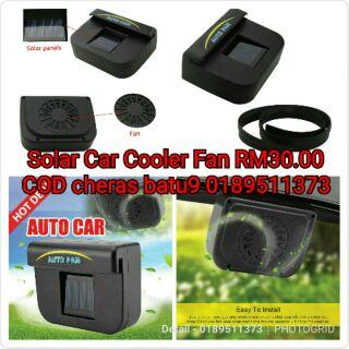 Solar Car Cooler Fan | Shopee Malaysia