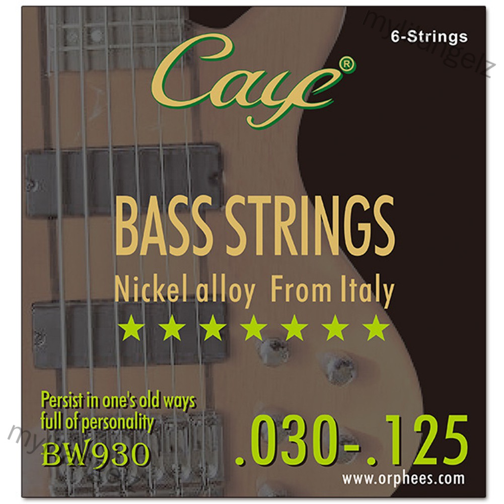 Mylilangelz CAYE BW Series 4/5/6 pcs Bass Strings (READY STOCK)