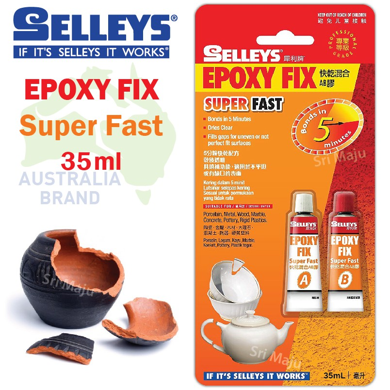 Adhesives, Sealants & Tapes Business & Industrial Buy Cheap Selleys 14ml Araldite 90 Seconds Self Mixing