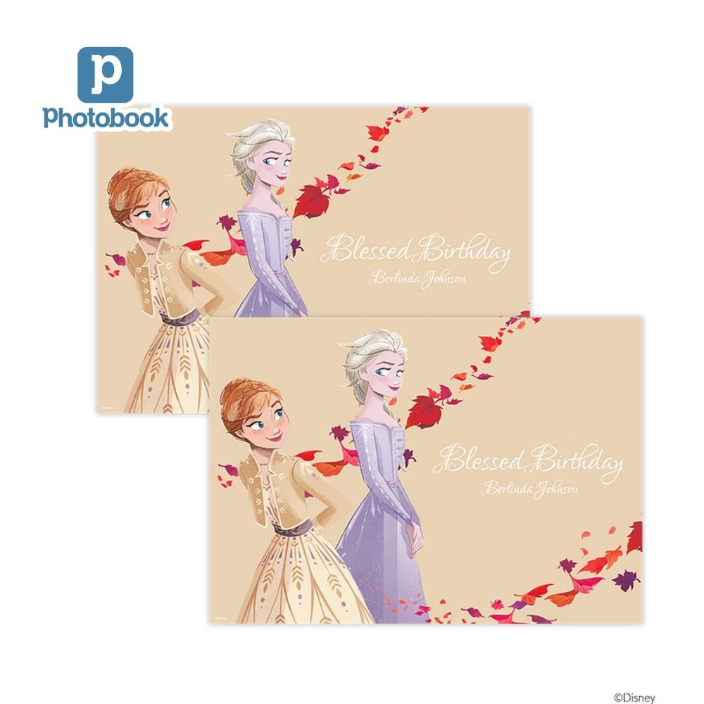 Disney Frozen A3 Poster - 2 pieces [e-Voucher] Photobook