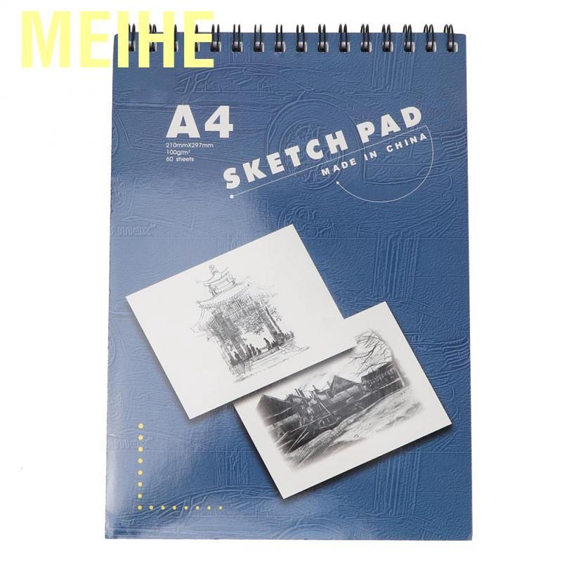 A4 Sketch Book Drawing Book Artist Sketch Book A4-135gsm Blue
